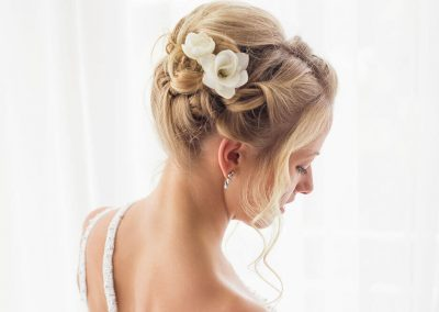 Hair-ups for brides
