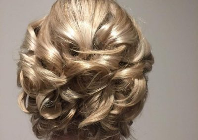 Beautiful hair up by Tori